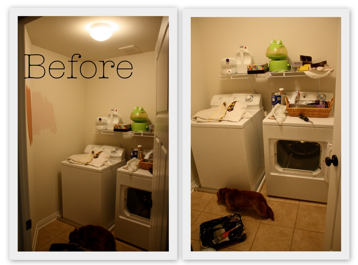 Myers Four: A Laundry Room Redo.