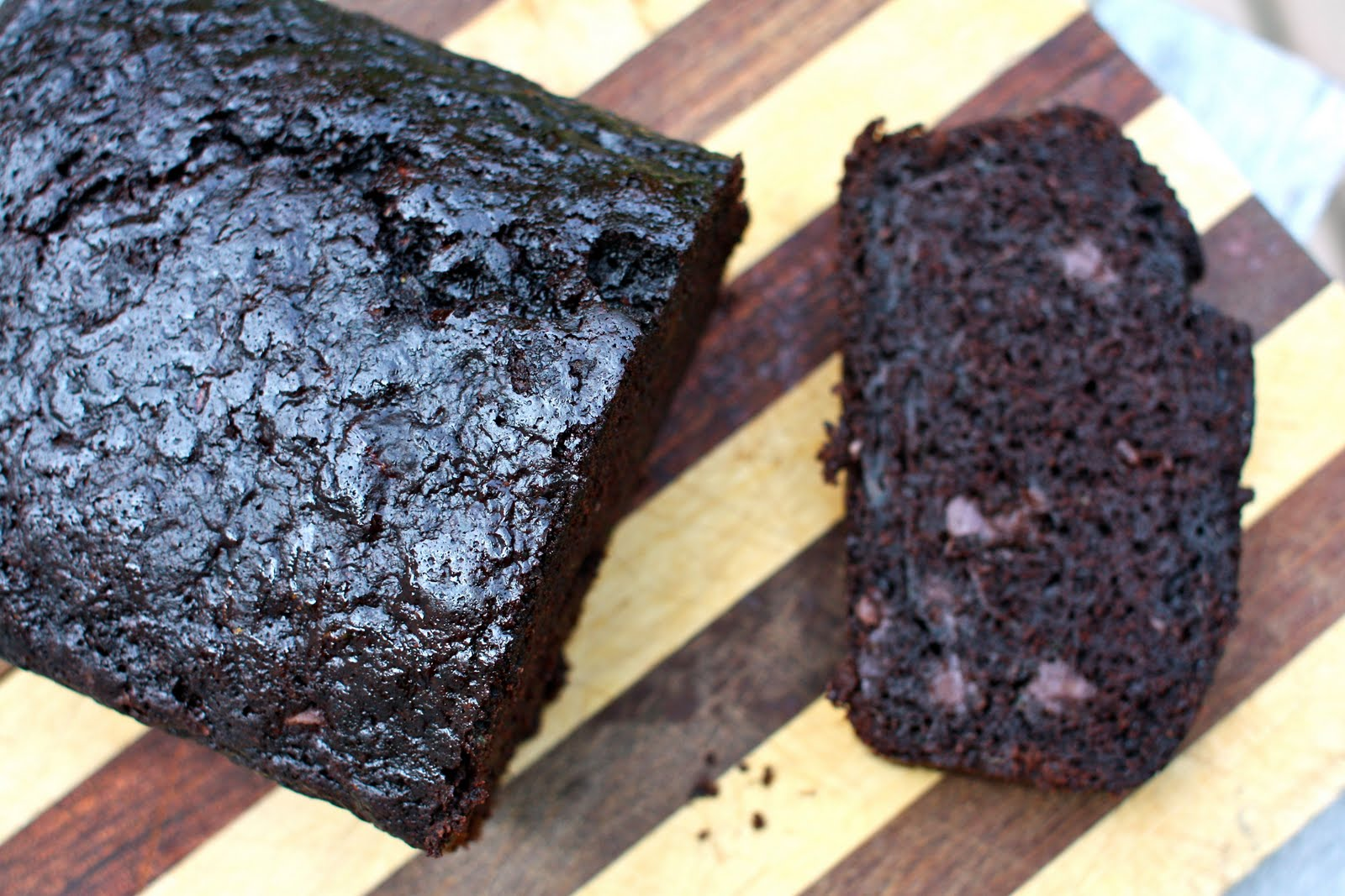 Under the High Chair: Double Chocolate Zucchini Bread
