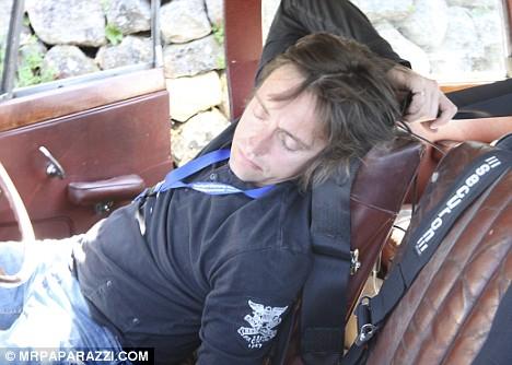 Richard Hammond Shirt Off The Tuxedo Inn: April ...