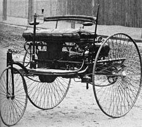 Who Invented The Automobile >> Electric 1899 Benz Rennwagen Replica: Side Track - Benz Patent Motorwagen