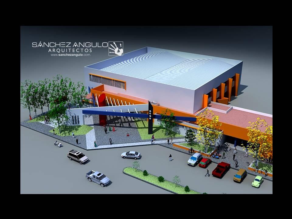 Centro social cultural y deportivo zapotiltic jal for Conceptualizacion de la arquitectura