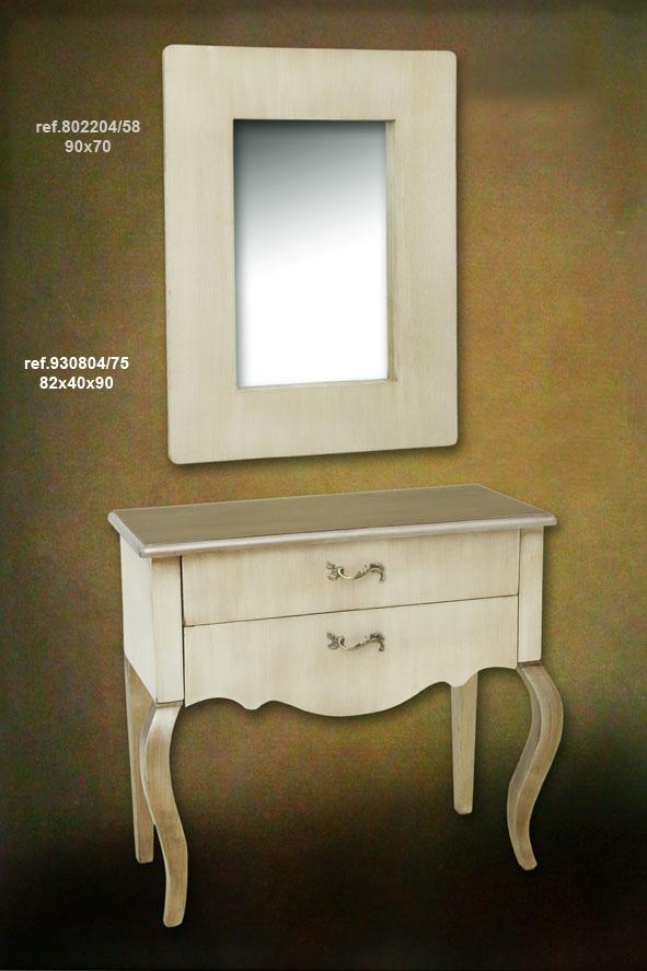 Muebles pareja muebles beige plata patinada for Muebles beige