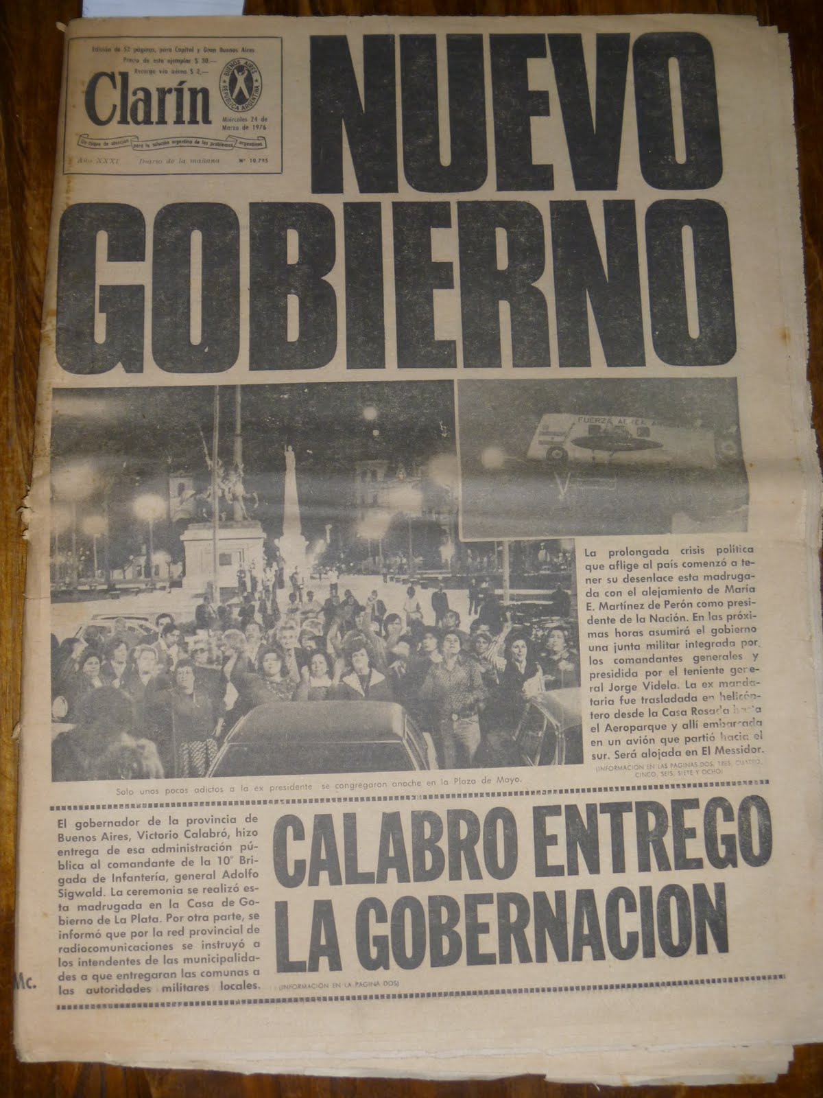 16 diciembre 1988: