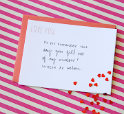 our love you/miss you/need you foilstamped notecards are just the thing. seesaw valentines
