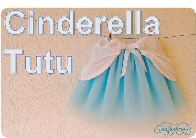 sewing tutorial for Cinderella tutu