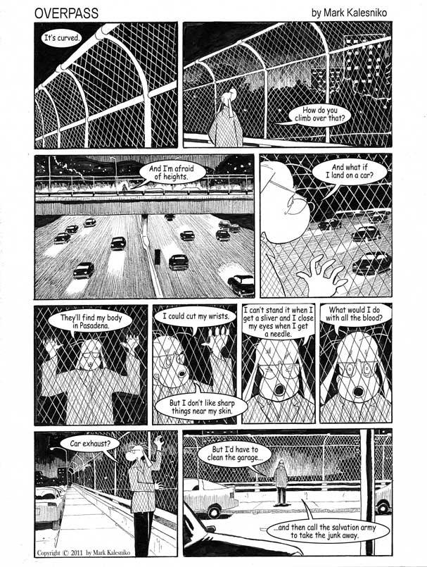 Stripovi o Alexu Kalienki i drugi radovi Marka Kalesnika Page-1-copy