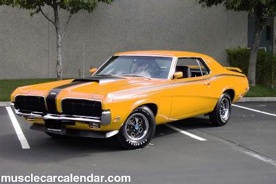 Muscle Cars Mercury Cougar 70