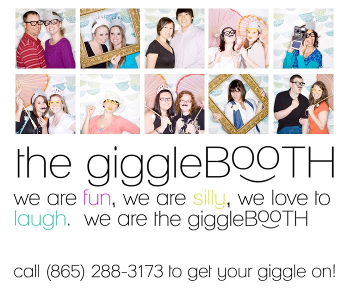thegiggleBOOTH - photo booth for wedding, bar mitzvah, events, knoxville tn, photobooth tn
