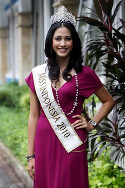 Foto Asyifa Latief Miss Indonesia 2010