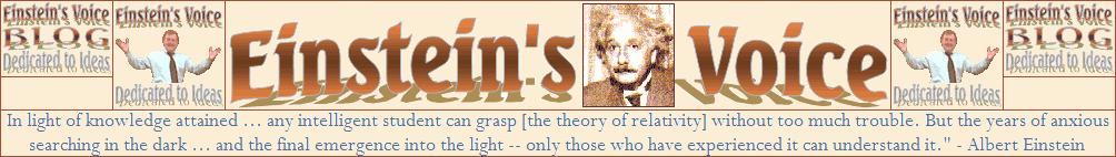 Einstein's Voice