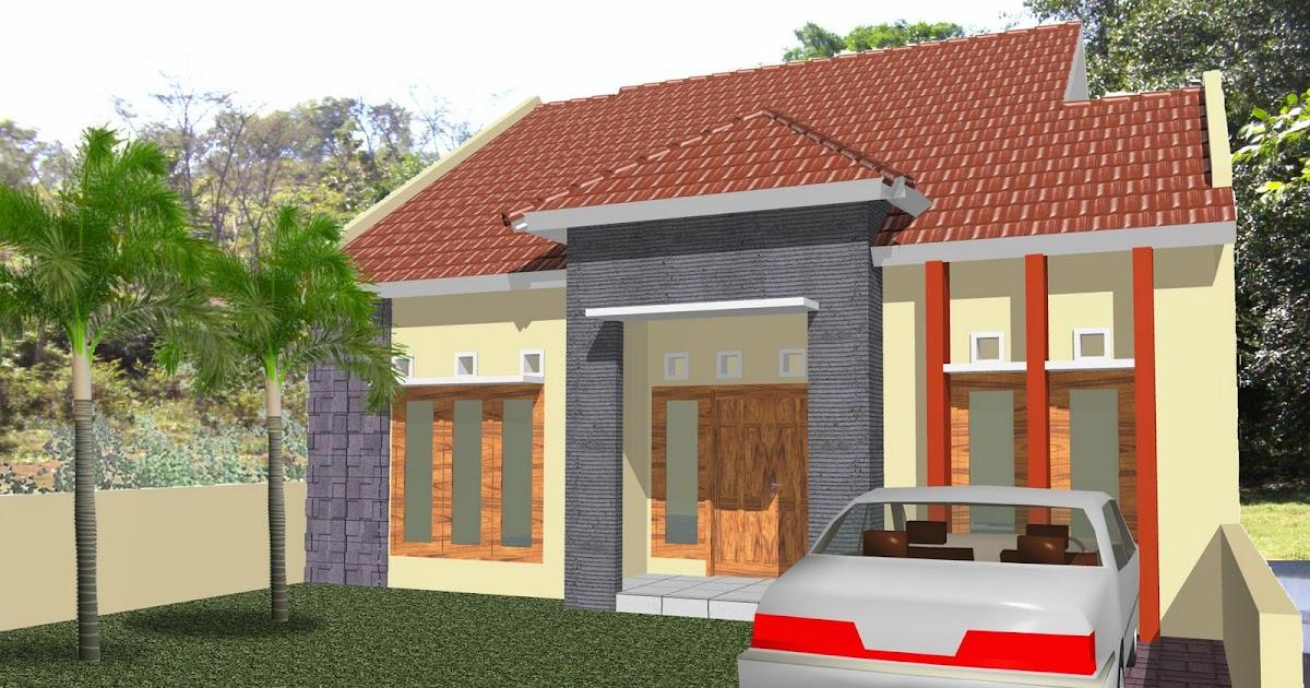 rumah dan inspirasinya gambar denah prespektif rumah 1