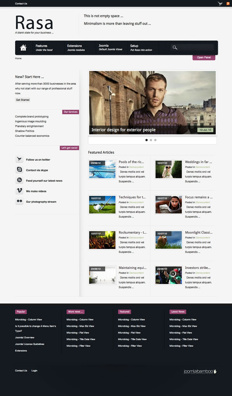 Free osCommerce Template 2011 for eCommerce Websites