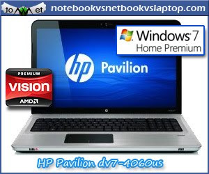 HP PAVILION DV7 4060US 17.3 INCH LAPTOP AMD PHENOM II TRIPLE