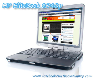 HP EliteBook 2740p Impressive Touchscreen Offsets