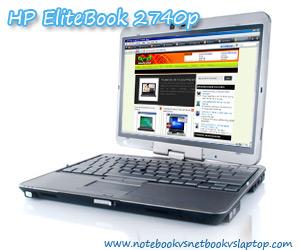 HP EliteBook 2740p Impressive Touchscreen Offsets