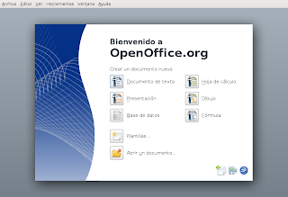 OpenOffice.org 3 Start Center