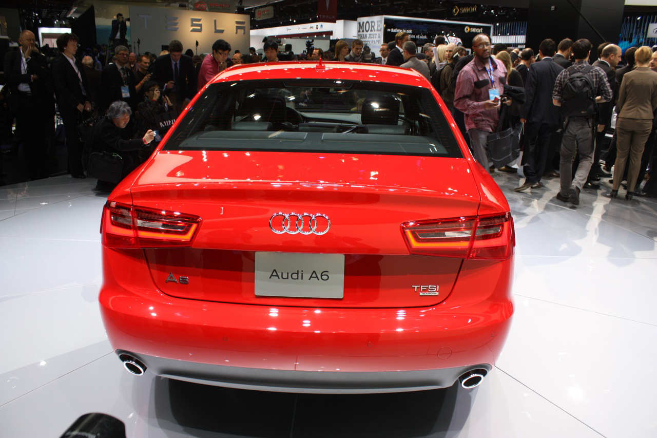 2012 Audi A6   Detroit 2011