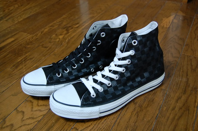 My English is poor: CONVERSE DAMIER