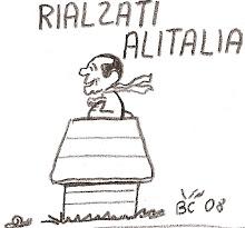 Rialzati, Alitalia.