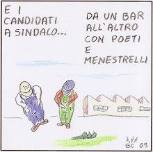 Forlì, vignetta incazzata su questo inizio di campagna elettorale.