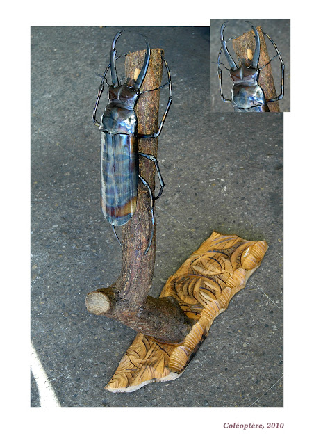 ses créations de ferronnerie