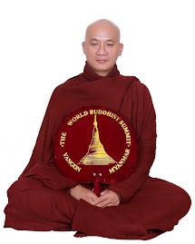 Sư Thiện Minh ở Myannmar