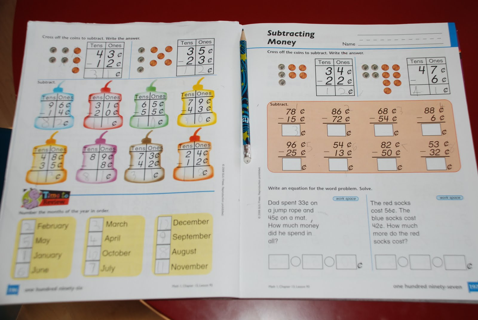 For the Love of Learning: Math Curriculum