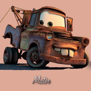 the zaugg blog: A Tribute to Mater from the Disney movie Cars
