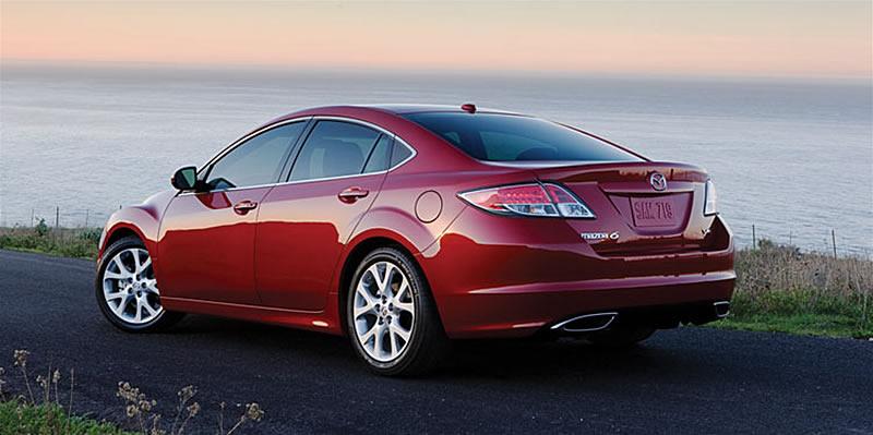 2009 Mazda6 Atenza Red Image