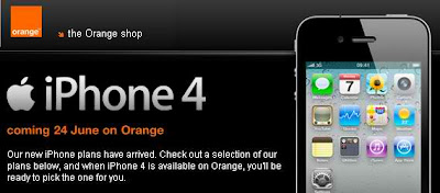 Orange iPhone 4 price review revealed
