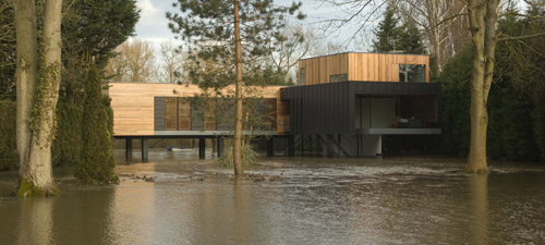 Beautiful Hind House in England by John Pardey Architects