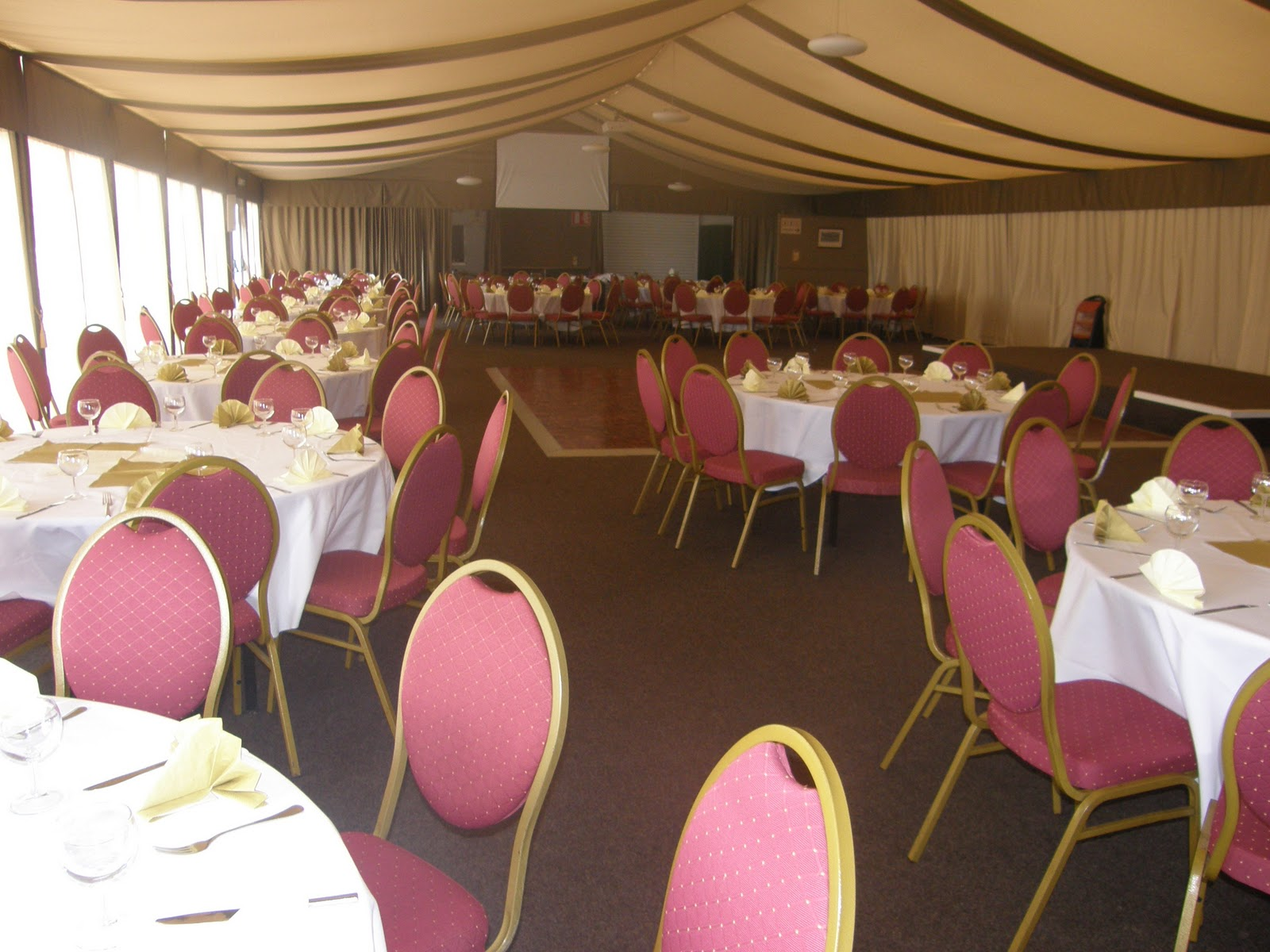 all angles chair covers and venue dressing albion rugby club
