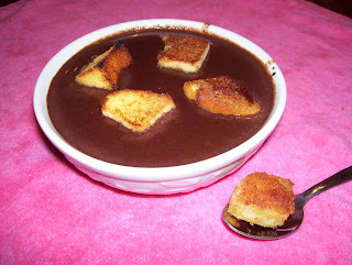 The Love Family of 5: Dark Chocolate Soup with Cinnamon-Toasted ...