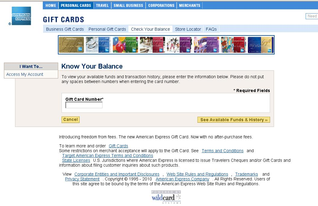 How To Check Your Amex Gift Card Balance Letmeget