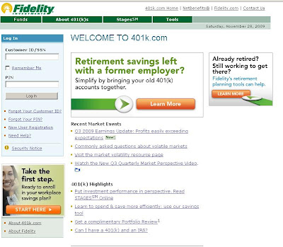 Www.401K.com- Fidelity 401K Login