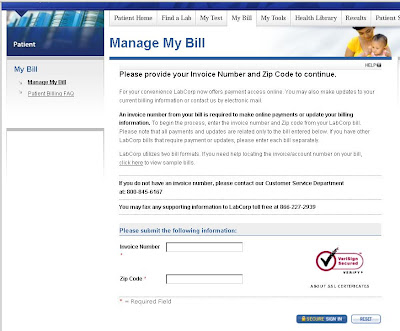 www.Labcorp.com/Billing - Manage Your Labcorp Bill Pay