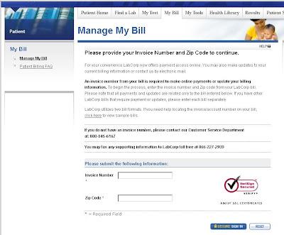 Manage Your Labcorp Bill Payment Online | letmeget.com