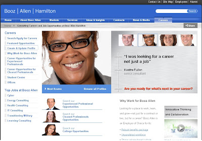 For the job seekers, who seek a career (job) at Booz Allen Hamilton, visit Booz Allen Hamilton's website' career page (www.boozallen.com/careers) to get latest job vacancies