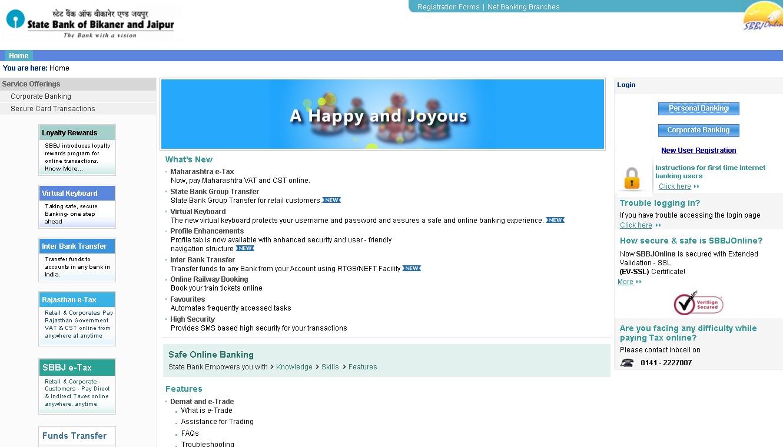 Sbbjonline internet banking login amp access user guide