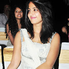 Anushka in White Churidar  Cute Pictures
