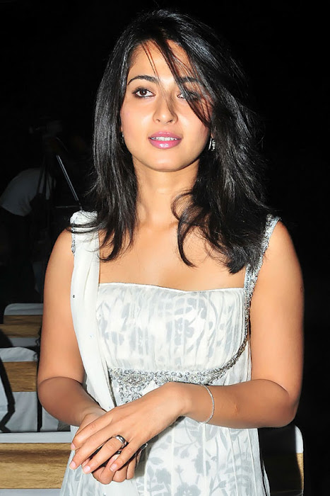 anushka in vedam audio released movies vedam audio premier anushka sharma in white dress looking pretty unseen pics
