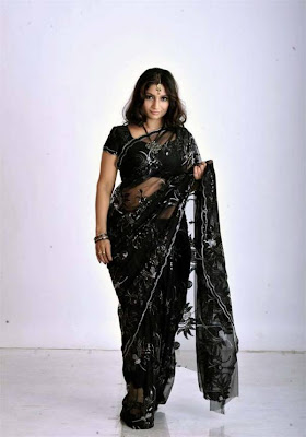 Malayalam South Mallu Desi Actress Srilekha Transparent Her Saree Show ...