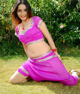 Hot Sexy Navel Touching Images Anu Vaishnavi Wet Look