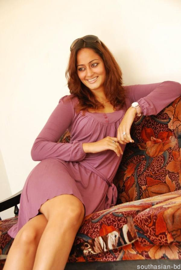Kaveri Jha On Her Home Sofa - Relaxing