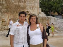 Con Javi en Peñíscola
