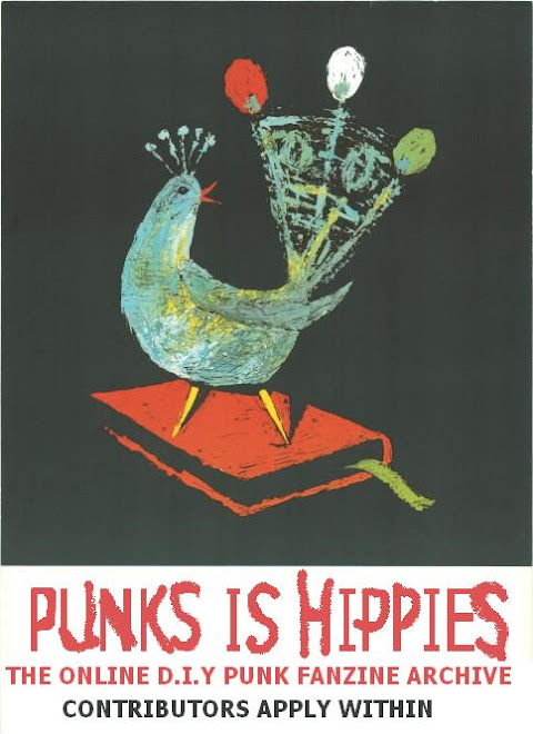 punks is hippies - the blog!