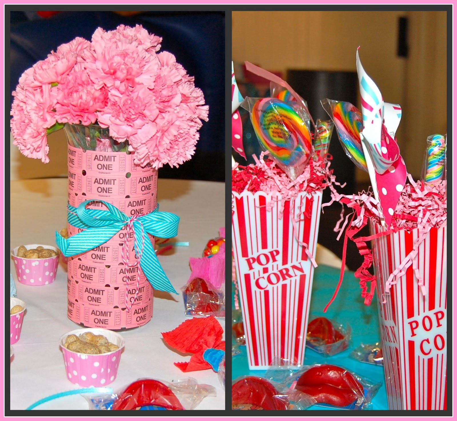Cupcakes and lemonade vintage circus birthday party
