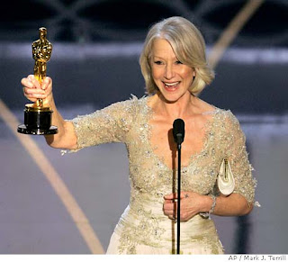 Helen Mirren was a shoe-in to win Best Actress at the 2007 Oscars