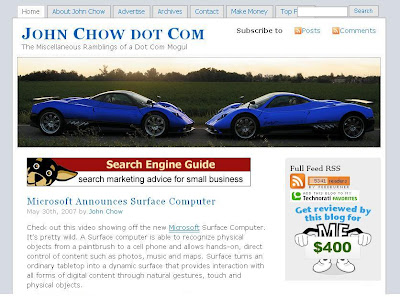 Make Money Online with John Chow dot Com can be downloaded for free below!