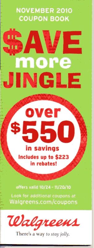 Walgreens coupon booklet november 2018